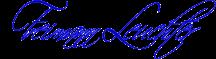 Freimann Leuchter-blau